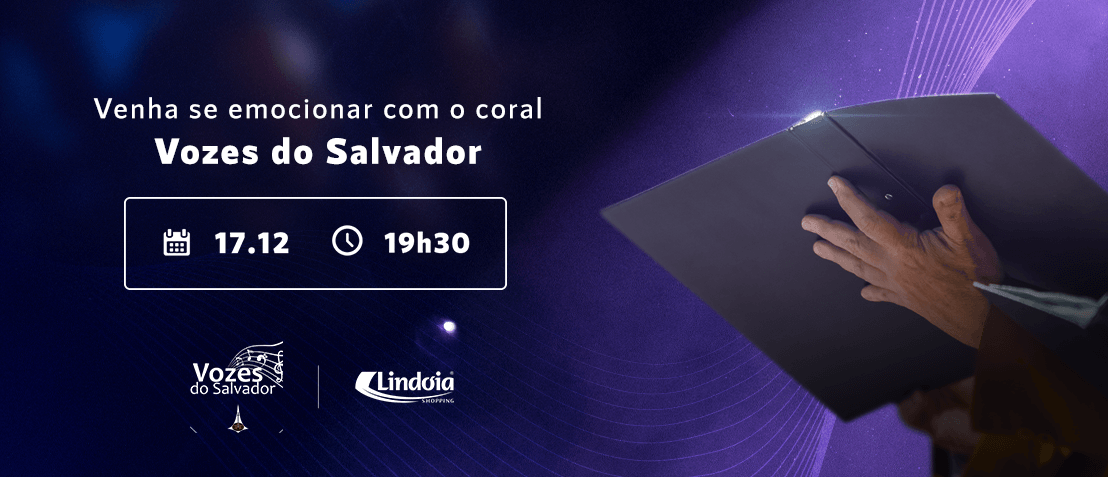 Coral Vozes do Salvador no Natal do Lindóia